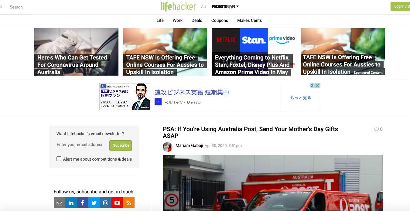 Lifehacker Australia