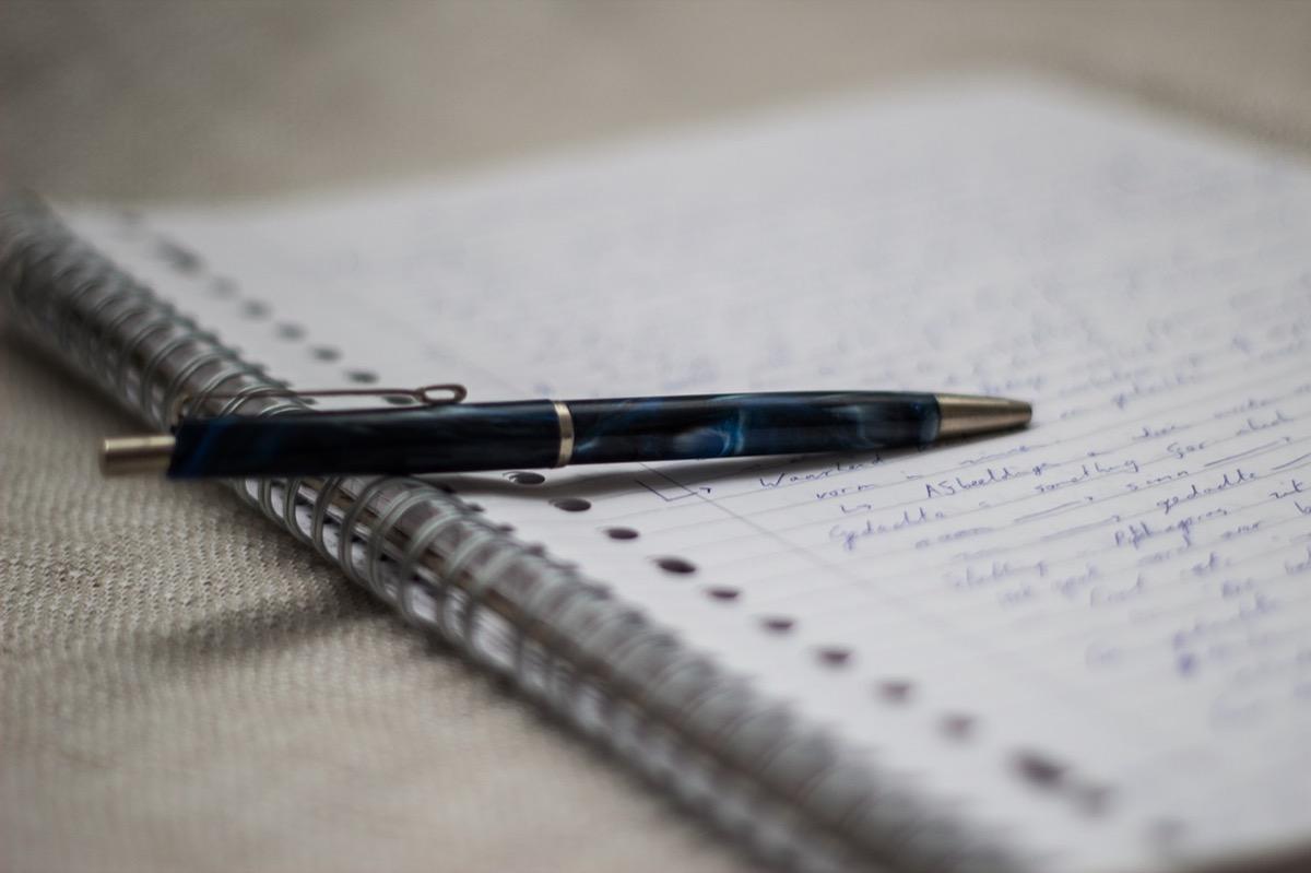 中国語単語ノートの作り方