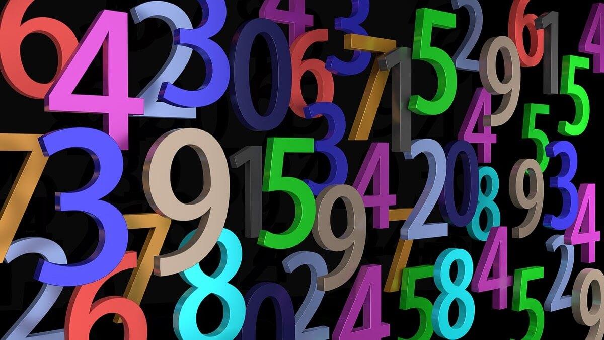 数字で表される様々な中国語